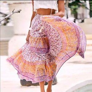 Dresses & Skirts - BOHEMIAN MAXI SKIRT